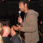Marlon Wayans offering advice to all the performers.