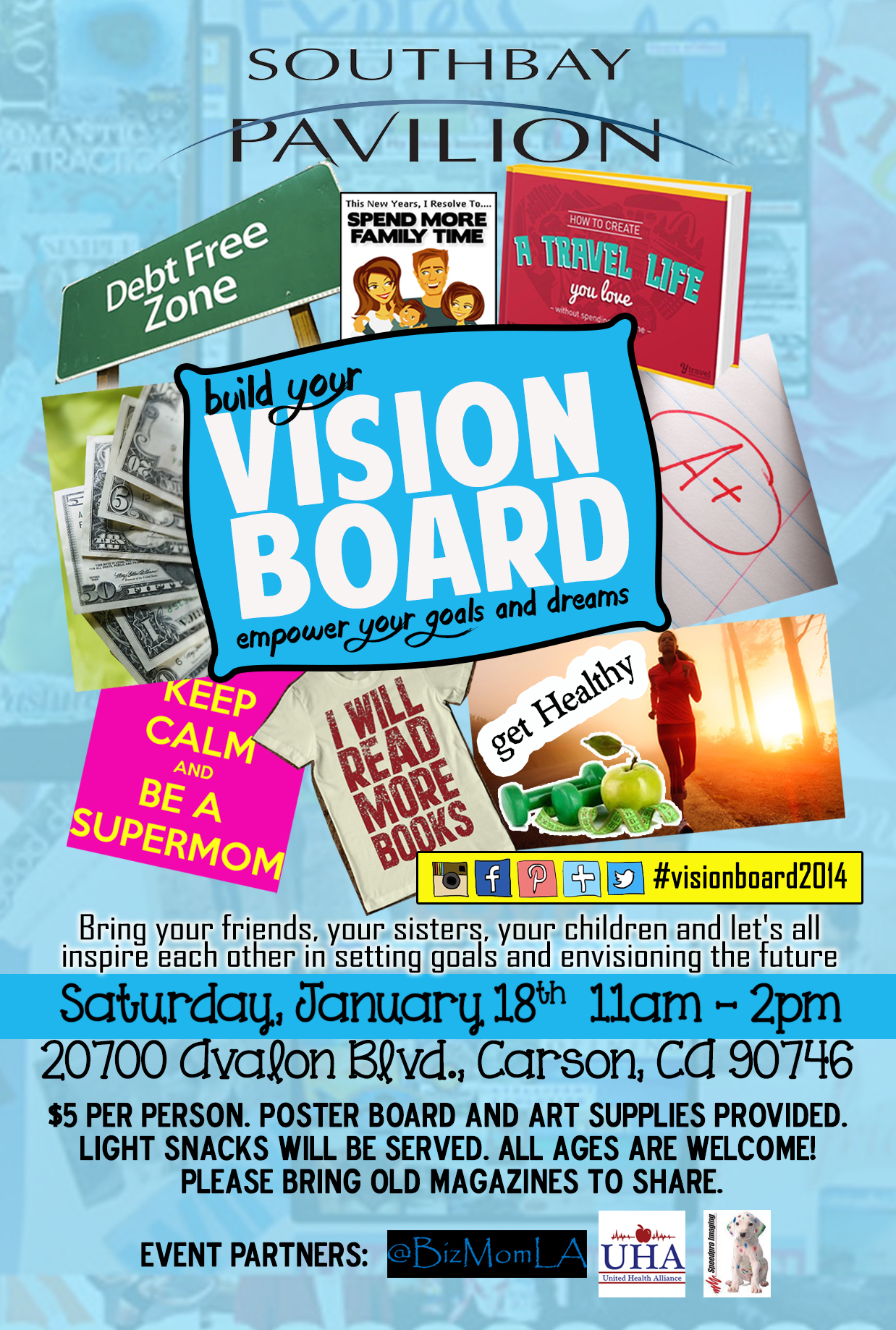 Join us for our Vision Board Event (7pm) and Watch Night ... |Events Vision Board