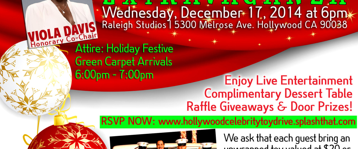 HOLLYWOOD CELEBRITY TOY DRIVE EXTRAVAGANZA